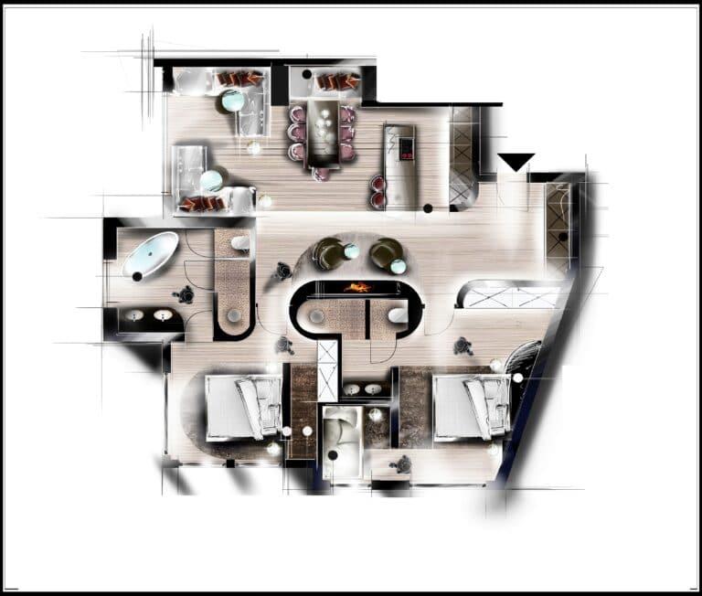 Nennerhof - Living & Sport / Apartments in Hintertux / Apartment Kamin Superior