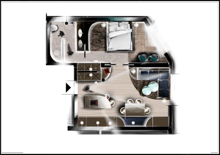 Nennerhof - Living & Sport / Apartments in Hintertux / Apartment Sport Komfort